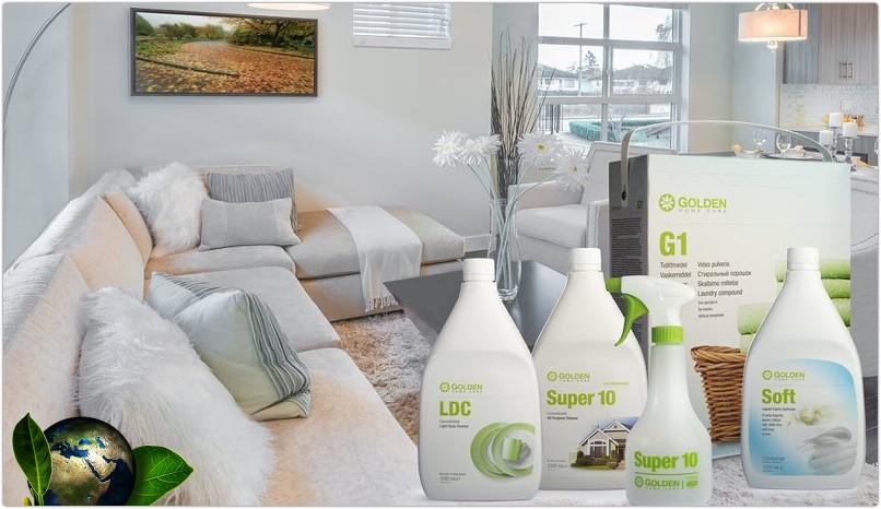 Detergenti ecologici Golden